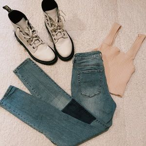 PacSun high waisted skinny jeans :)